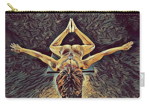 1038s-zac Dancer Flying On Pedestal Nudes In The Style Of Antonio Bravo  Carry-all Pouch