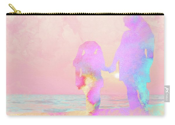 10876 Sunset With Mom Carry-all Pouch