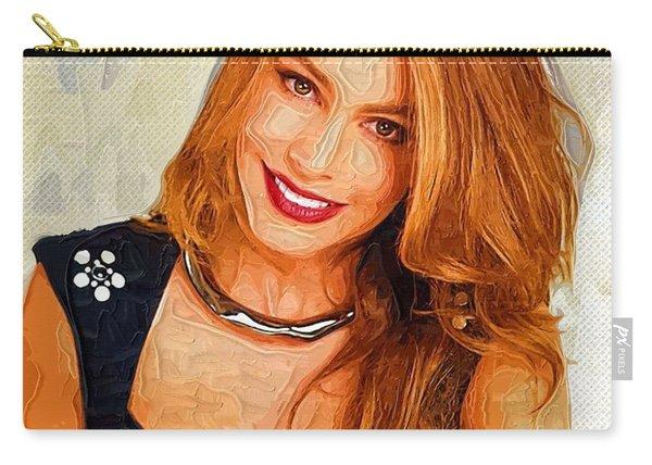 Actress Sofia Vergara  Carry-all Pouch