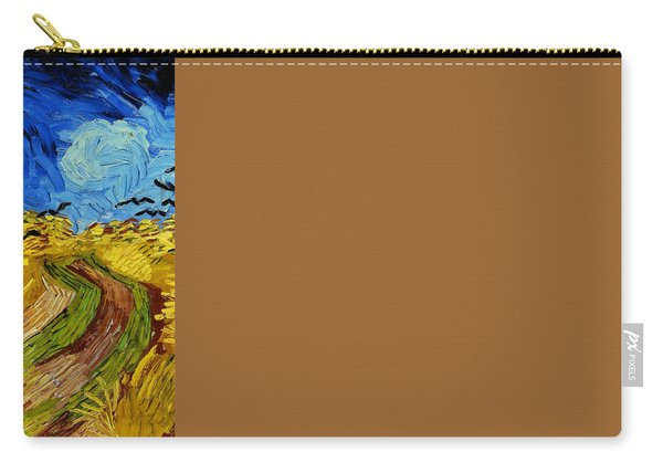 Wheatfield With Crows Carry-all Pouch