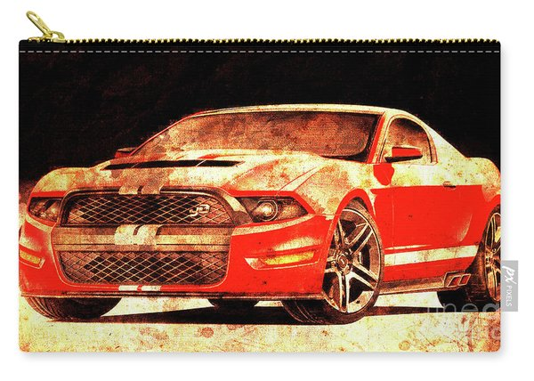 117 - 2015-ford-mustang-gt500 Carry-all Pouch