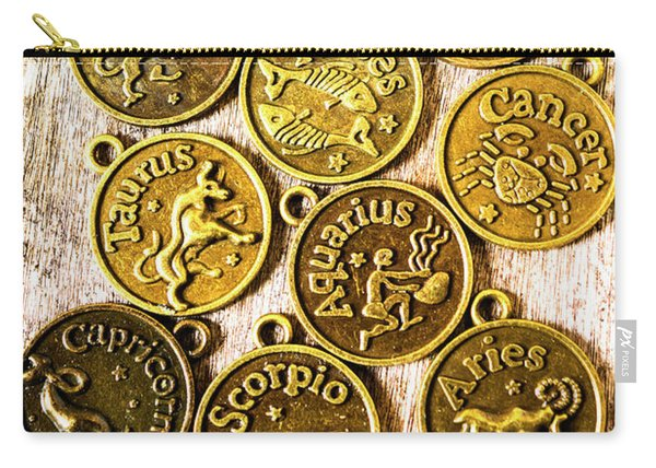 12 Wonders Of The Zodiac  Carry-all Pouch