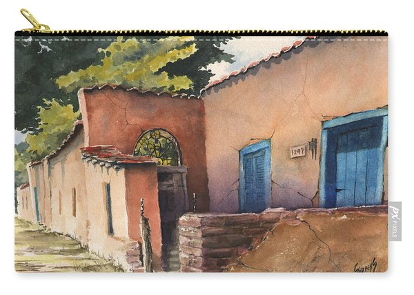 1247 Agua Fria Street Carry-all Pouch