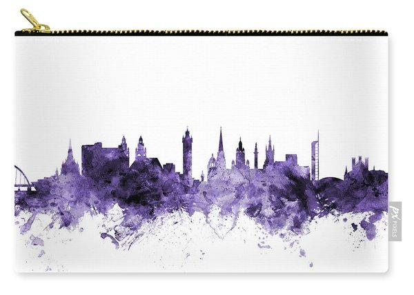 Glasgow Scotland Skyline Carry-all Pouch