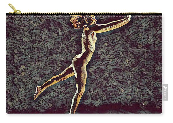 1302s-zak Naked Dancers Leap Nudes In The Style Of Antonio Bravo Carry-all Pouch
