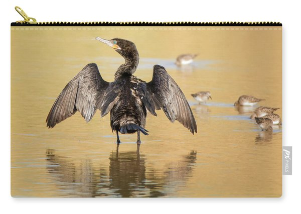 Neotropic Cormorant Carry-all Pouch