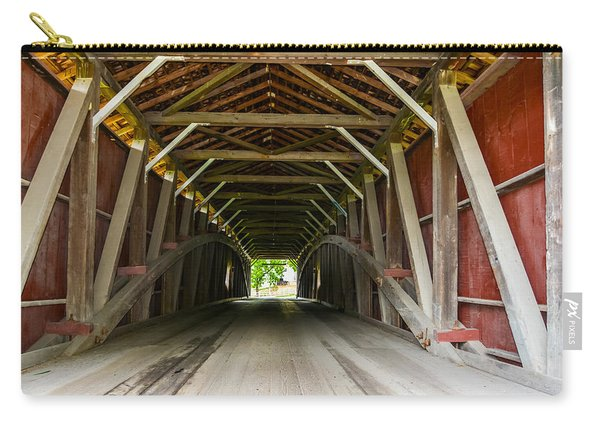 143 Feet Of Covered Bridge Carry-all Pouch