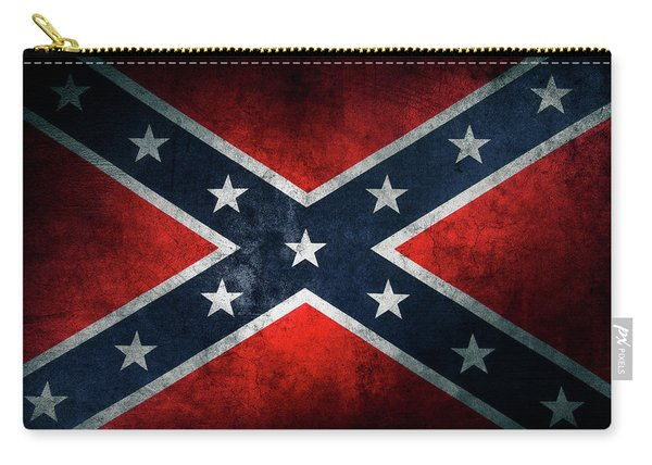 Confederate Flag 21 Carry-all Pouch