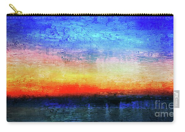 15a Abstract Seascape Sunrise Painting Digital Carry-all Pouch