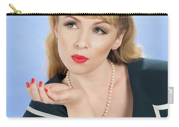 Pin Up Girl Carry-all Pouch