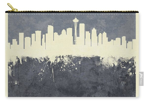 Seattle Washington Skyline Carry-all Pouch