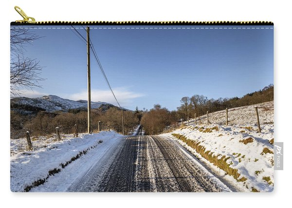 Trossachs Scenery In Scotland Carry-all Pouch