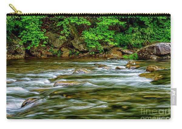 Williams River Spring Carry-all Pouch