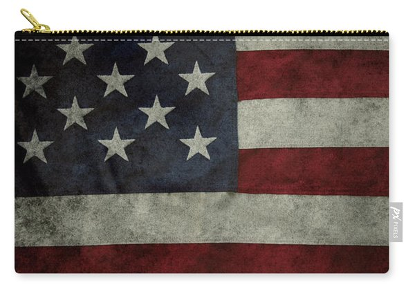 American Flag 62 Carry-all Pouch