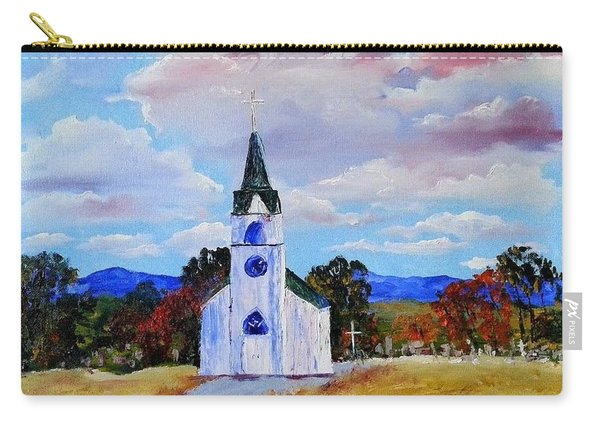 #17 St. Johns Historic Church On Hwy 69 Carry-all Pouch