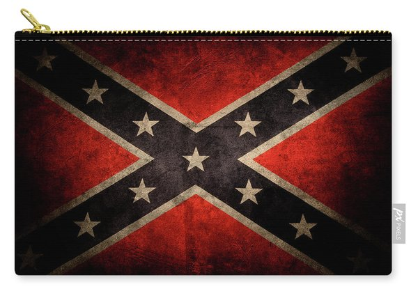Confederate Flag 7 Carry-all Pouch