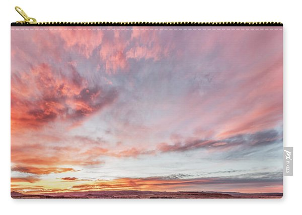 180 Degrees Of Sunset Carry-all Pouch