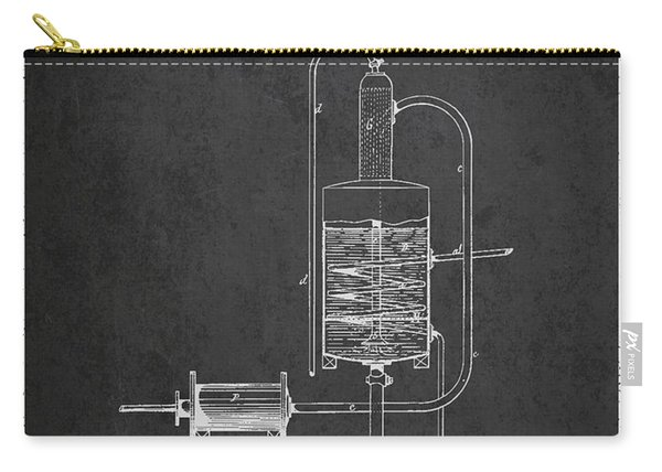 1874 Alcohol Purifying Apparatus Patent Fb77_cg Carry-all Pouch
