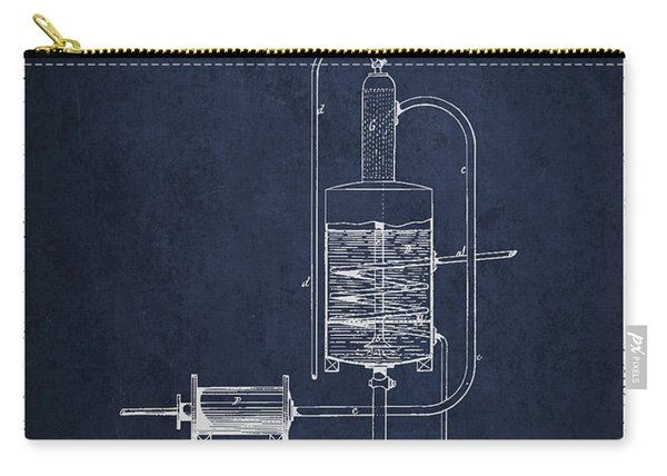 1874 Alcohol Purifying Apparatus Patent Fb77_nb Carry-all Pouch