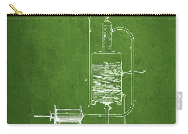 1874 Alcohol Purifying Apparatus Patent Fb77_pg Carry-all Pouch