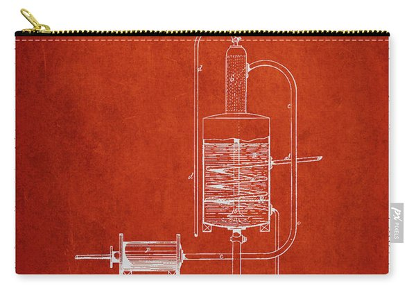 1874 Alcohol Purifying Apparatus Patent Fb77_vr Carry-all Pouch