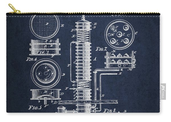 1880 Alcohol Still Patent Fb81_nb Carry-all Pouch