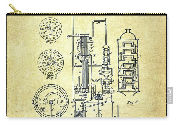 1882 Alcohol Still Patent Fb80_vn Carry-all Pouch