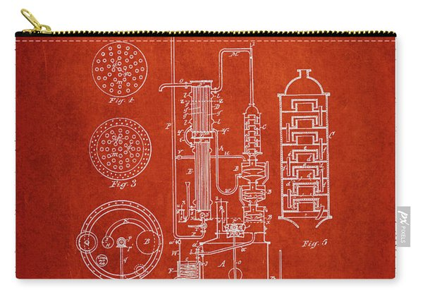 1882 Alcohol Still Patent Fb80_vr Carry-all Pouch