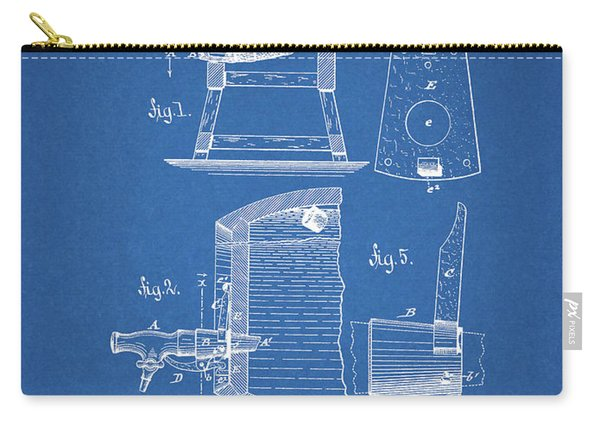 1883 Beer Faucet Design Carry-all Pouch