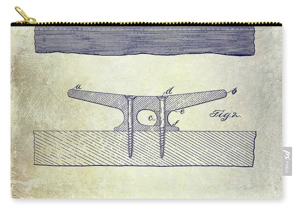 1895 Nautical Cleat Patent Carry-all Pouch
