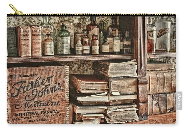 18th Century Pharmacy Carry-all Pouch
