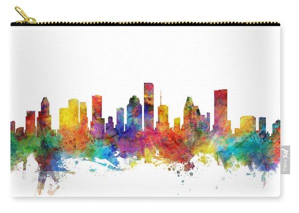 Houston Texas Skyline Carry-all Pouch