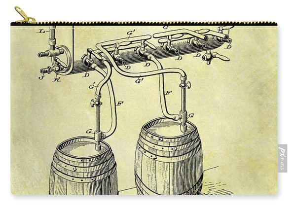 1900 Beer Cooler Patent Carry-all Pouch