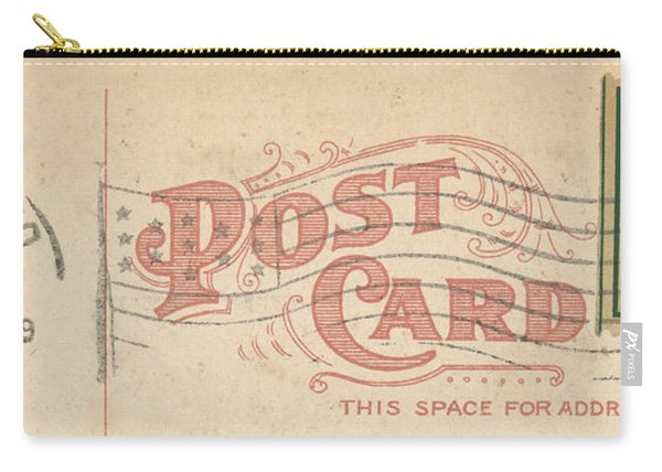 1909 Postcard Carry-all Pouch