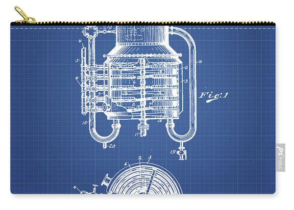 1909 Whisky Still Patent Fb78_bp Carry-all Pouch