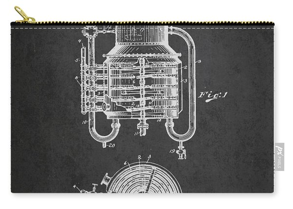 1909 Whisky Still Patent Fb78_cg Carry-all Pouch