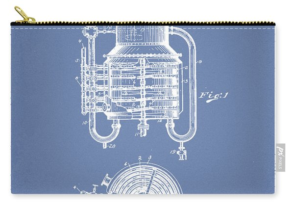 1909 Whisky Still Patent Fb78_lb Carry-all Pouch