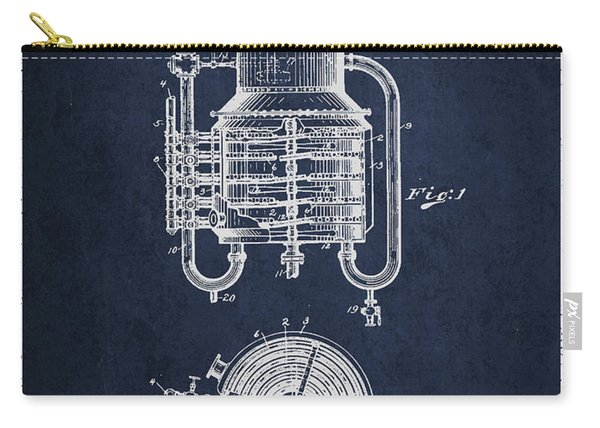 1909 Whisky Still Patent Fb78_nb Carry-all Pouch