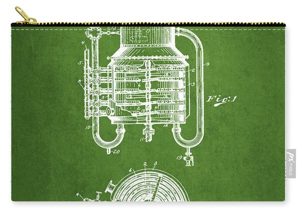 1909 Whisky Still Patent Fb78_pg Carry-all Pouch