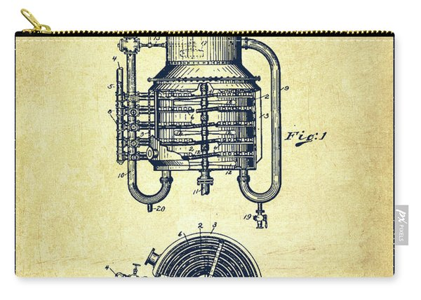 1909 Whisky Still Patent Fb78_vn Carry-all Pouch