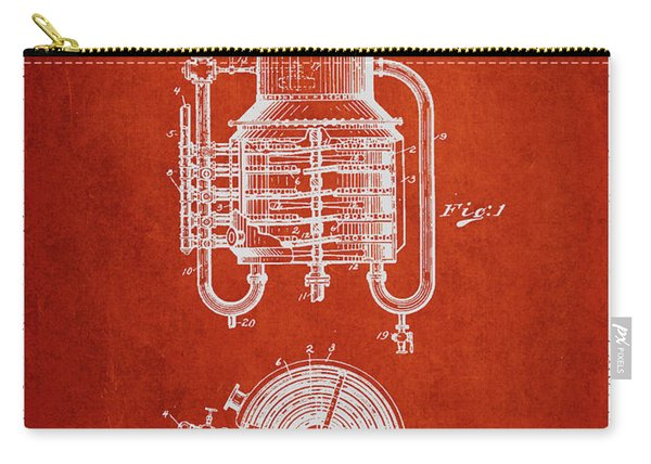 1909 Whisky Still Patent Fb78_vr Carry-all Pouch