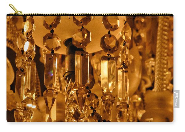 1920's Crystal  Lamp Details Carry-all Pouch
