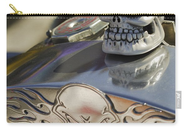 1923 T-bucket Skull Hood Ornament Carry-all Pouch