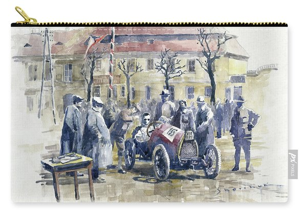 1922 Zbraslav Jiloviste Start Bugatti T13 Brescia. Carry-all Pouch