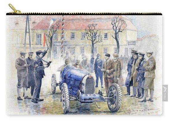 1926 Zbraslav Jiloviste Start Bugatti T35b Cenek Junek Elisabeth Junek  Carry-all Pouch