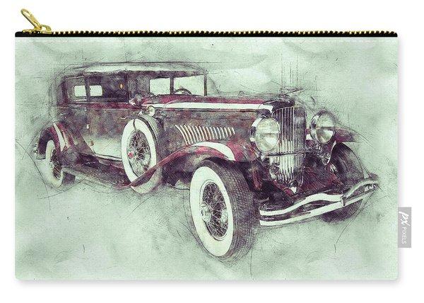 1928 Duesenberg Model J 1 - Automotive Art - Car Posters Carry-all Pouch