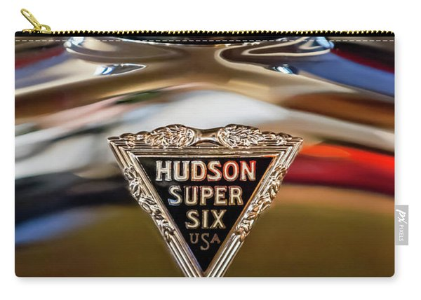 1929 Hudson Cabriolet Hood Ornament Carry-all Pouch