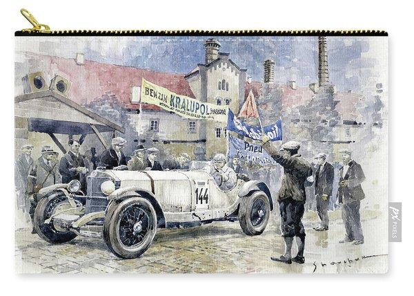 1930 Zbraslav-jiloviste Regularity Ride To The Top Mercedes Benz Ssk  Rudolf Caracciola Winner. Carry-all Pouch