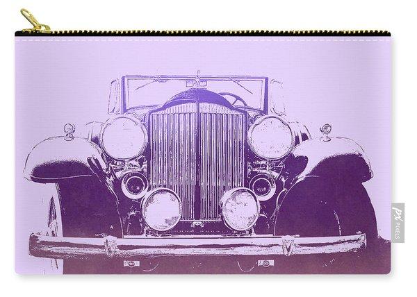 1932 Packard Pop Art Violet Gradient Carry-all Pouch