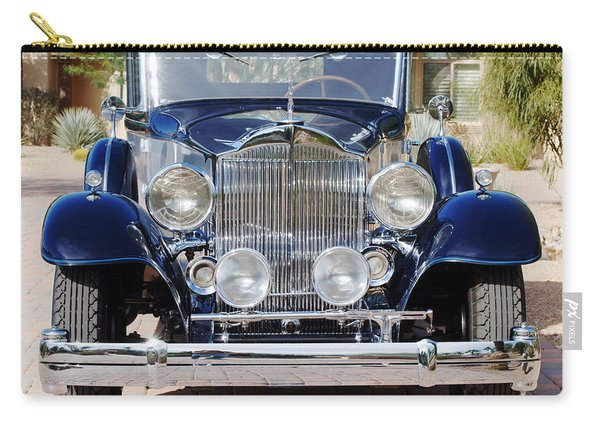 1933 Packard 12 Convertible Coupe Carry-all Pouch